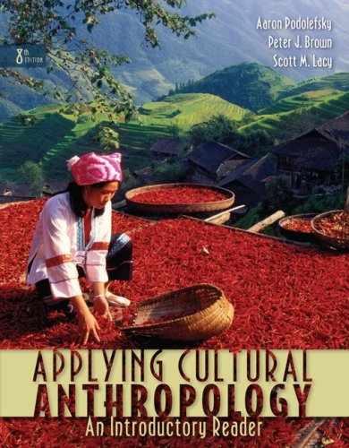 Applying Cultural Anthropology An Introductory Reader 8th 2009 edition cover