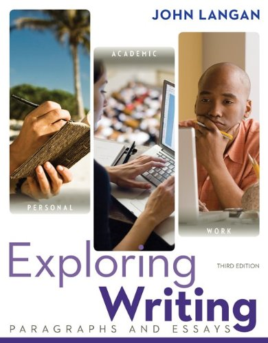 Exploring Writing Paragraphs and Essays 3rd 2013 edition cover
