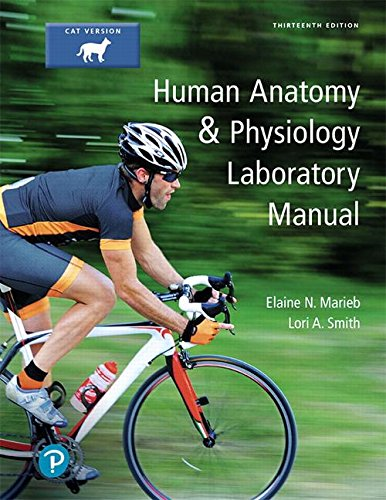 Human Anatomy & Physiology, Cat Version:   2018 9780134632339 Front Cover