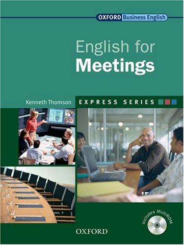 Express: English for Meetings Student's Book and MultiROM  2007 edition cover