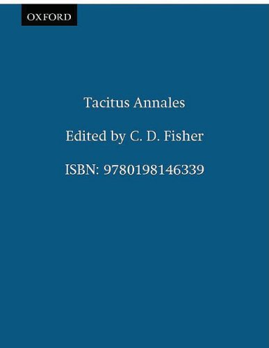 Tacitus Annales   2002 edition cover