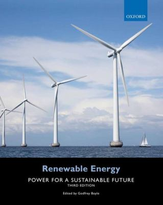 Renewable Energy Power for a Sustainable Future 3rd 2012 9780199545339 Front Cover