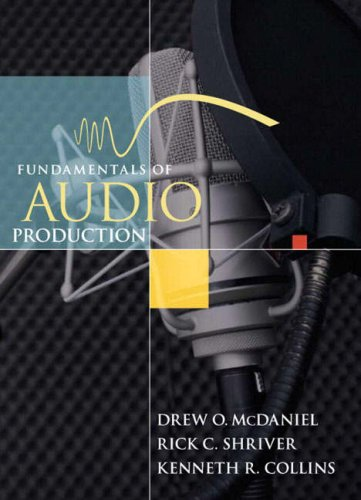 Fundamentals of Audio Production   2008 edition cover