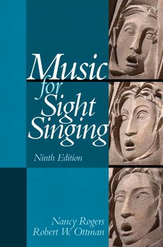 Music for Sight Singing  9th 2014 9780205938339 Front Cover