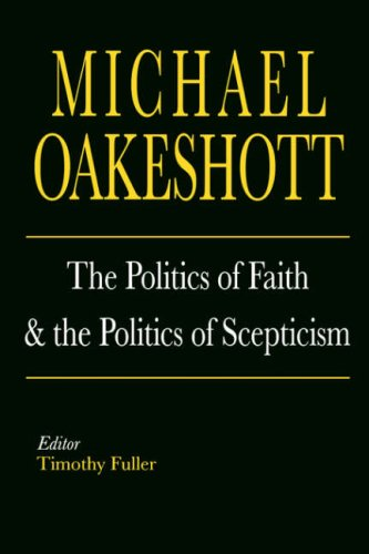 Politics of Faith and the Politics of Scepticism   1996 edition cover