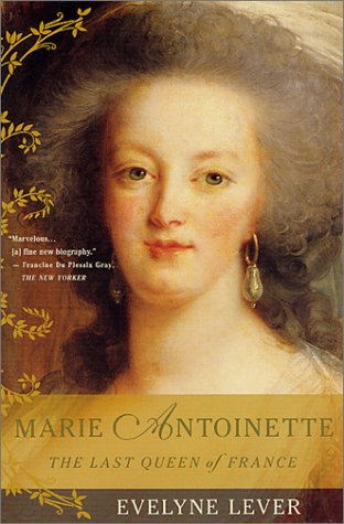 Marie Antoinette The Last Queen of France Revised edition cover