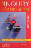 From Inquiry to Academic Writing A Practical Guide 2nd 2011 9780312692339 Front Cover