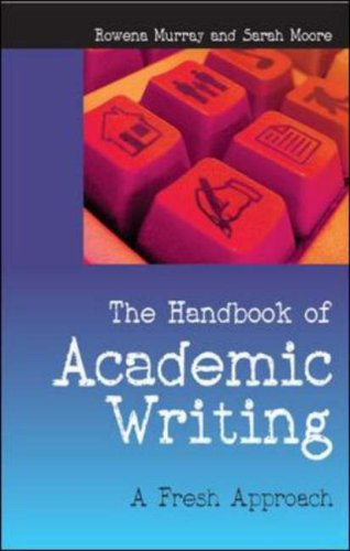Handbook of Academic Writing A Fresh Approach  2007 9780335219339 Front Cover
