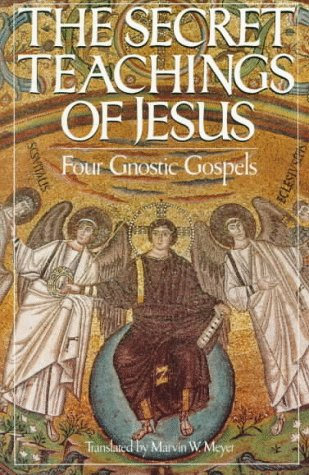 Secret Teachings of Jesus Four Gnostic Gospels N/A 9780394744339 Front Cover