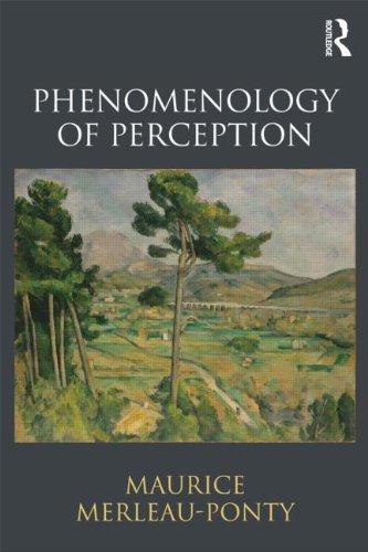 Phenomenology of Perception   2013 edition cover