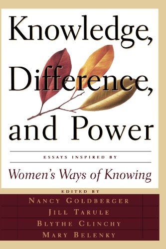 Knowledge, Difference, and Power Essays Inspired by Women's Ways of Knowing N/A edition cover