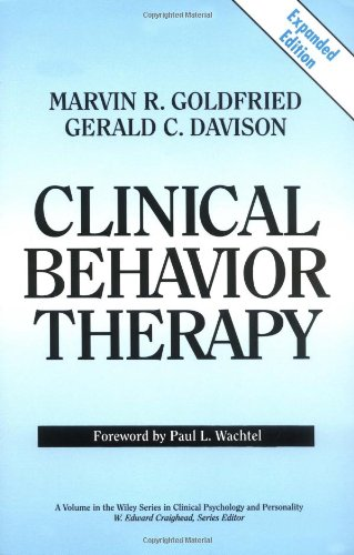 Clinical Behavior Therapy   1994 (Expurgated) edition cover