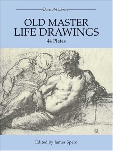 Old Master Life Drawings 44 Plates  1986 edition cover