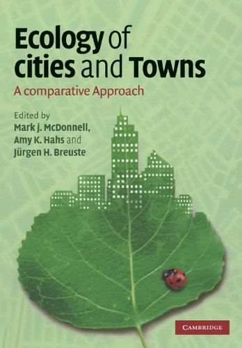 Ecology of Cities and Towns A Comparative Approach  2009 9780521678339 Front Cover