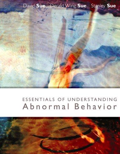 Essentials of Understanding Abnormal Behavior   2005 (Brief Edition) edition cover