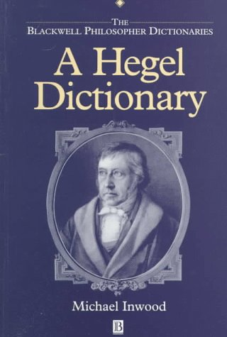 Hegel Dictionary   1992 edition cover