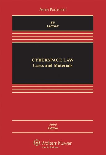 Cyberspace Law Cases and Materials 3rd 2010 (Revised) edition cover