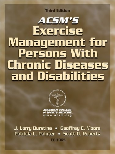 ACSM's Exercise Management for Persons with Chronic Diseases and Disabilities  3rd 2009 edition cover
