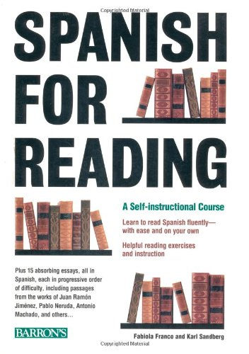 Spanish for Reading A Self-Instructional Course  1998 9780764103339 Front Cover