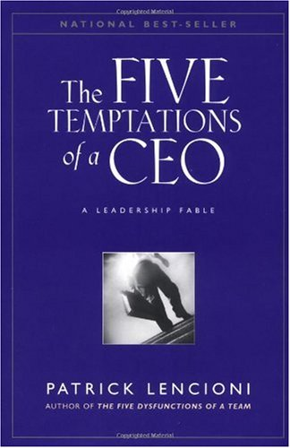 Five Temptations of a CEO   1998 edition cover