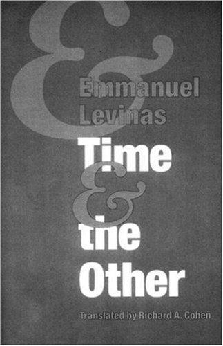 Temps et L'Autre  Reprint edition cover
