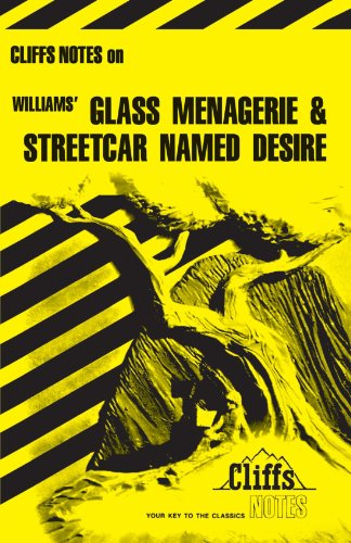 Williams' the Glass Menagerie and a Streetcar Named Desire   1965 edition cover