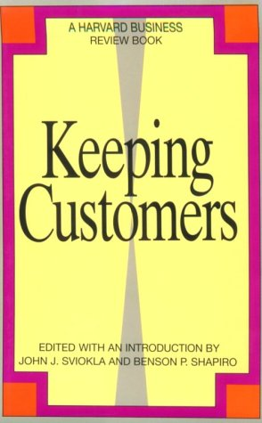 Keeping Customers   1993 edition cover