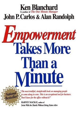 Empowerment Takes More Than a Minute   1998 (Reprint) edition cover