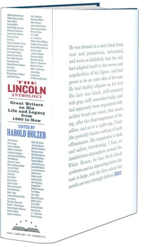 Lincoln Anthology Great Writers on His Life and Legacy from 1860 to Now  2009 edition cover
