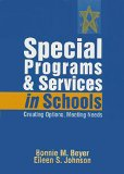 SPECIAL PROGRAMS+SERVICES IN S 1st edition cover