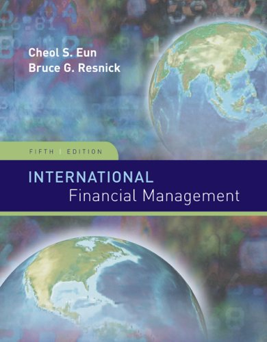 International Financial Management  5th 2009 edition cover