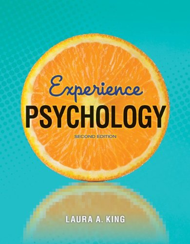 Experience Psychology  2nd 2013 edition cover