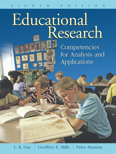 Educational Research Competencies for Analysis and Applications 8th 2006 (Revised) edition cover