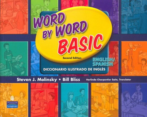 Word by Word Basic English/Spanish Bilingual Edition  2nd 2008 9780131482340 Front Cover