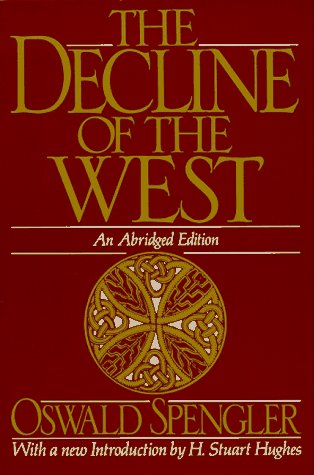 Decline of the West  2nd 1991 (Abridged) edition cover