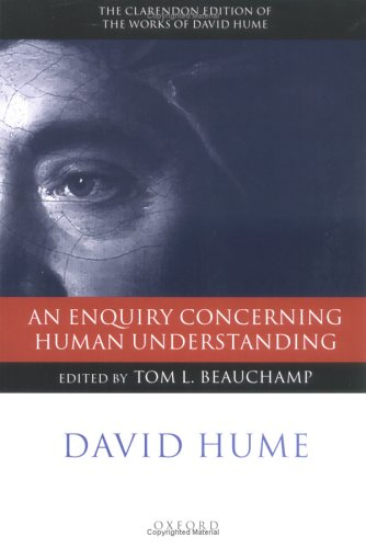 Enquiry Concerning Human Understanding   2003 9780199266340 Front Cover