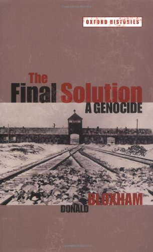 Final Solution A Genocide  2009 edition cover
