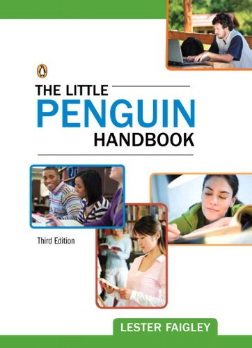 Little Penguin Handbook  3rd 2012 (Revised) edition cover