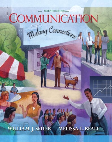 Communication Making Connections 7th 2008 edition cover