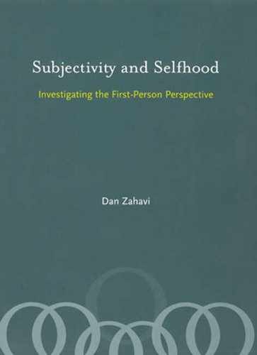 Subjectivity and Selfhood Investigating the First-Person Perspective  2008 9780262740340 Front Cover