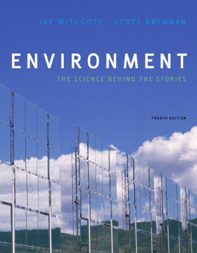 Environment The Science Behind the Stories 4th 2011 edition cover