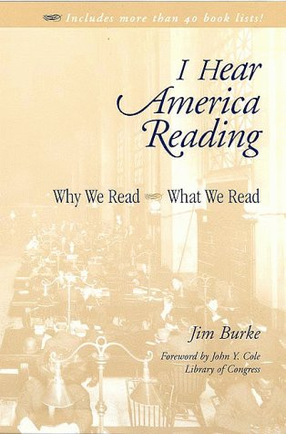 I Hear America Reading Why We Read - What We Read  1999 edition cover