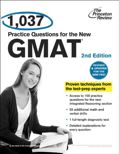 1,037 Practice Questions for the New GMAT  2nd (Revised) edition cover