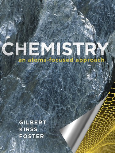 Chemistry An Atoms-Focused Approach  2013 9780393912340 Front Cover