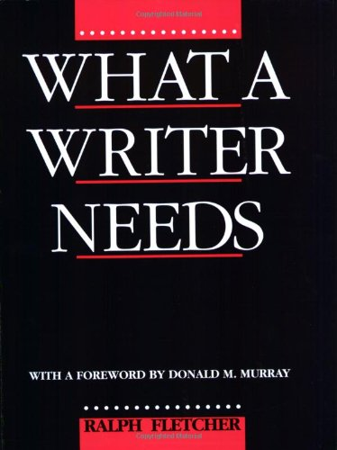What a Writer Needs   1993 edition cover