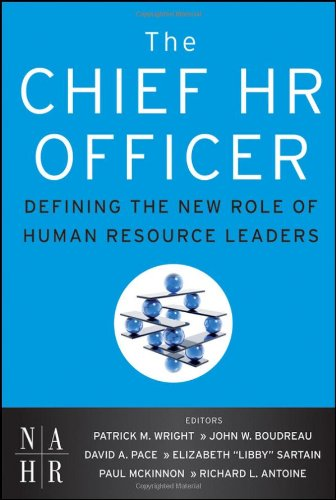 Chief HR Officer Defining the New Role of Human Resource Leaders  2011 9780470905340 Front Cover