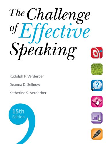 Challenge of Effective Speaking  15th 2012 edition cover