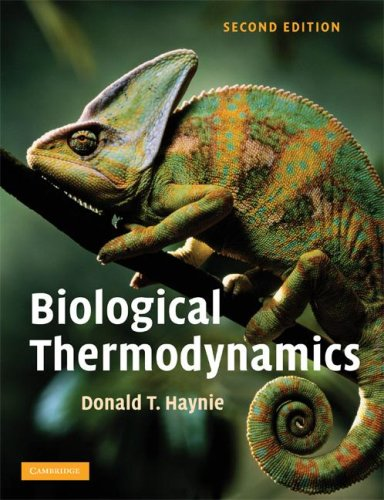 Biological Thermodynamics  2nd 2008 (Revised) 9780521711340 Front Cover