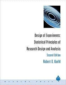 Design of Experiments Statistical Principles of Research Design and Analysis 2nd 2000 (Revised) edition cover