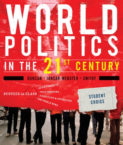 World Politics in the 21st Century   2009 edition cover